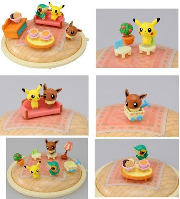 Pokemon Pitapoke 3pcs Set Tomy