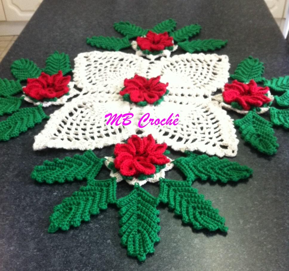 Patrones crochet manualidades y reciclado centro de mesa - Centros navidenos de mesa ...