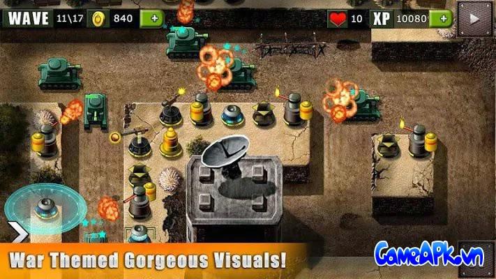 Defend The Bunker – World War v1.8 hack full tiền cho Android