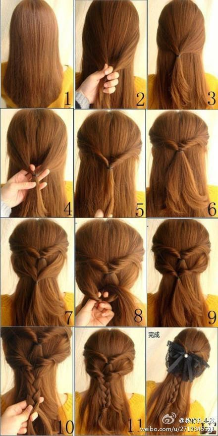 Peinados Instantaneos Peinados Faciles Paso A Paso Para Hacer En Casa - Peinados-para-hacer-en-casa