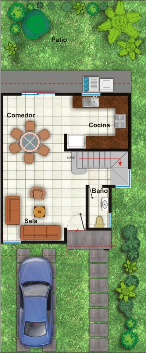 Baños En Planta Arquitectonica ~ Dikidu.com