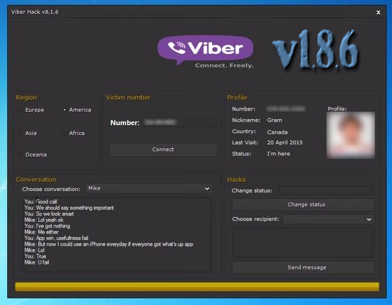 viber hack tool for pc