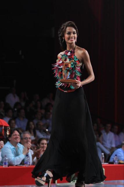 Srta. Colombia 2011-2012 Srta. Elegancia Primatela Magdalena: Melissa Varón Ballesteros
