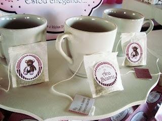 chá de fraldas menina
