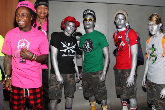 funki style lil waynes new clothing line trukfit