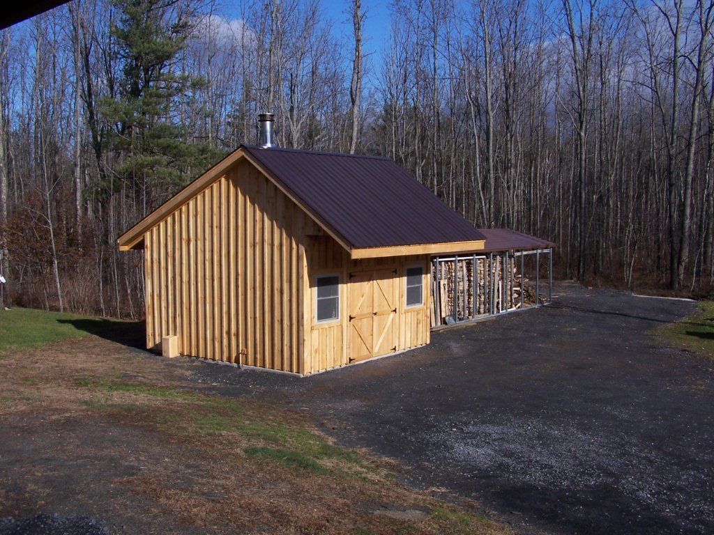 Wood shelter plans outdoor wood boiler shed how to build for Outdoor wood shed