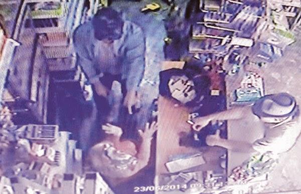 Video Rompakan Kedai Runcit Di Kemaman