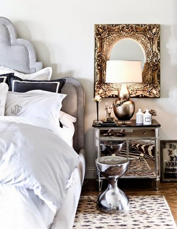 Add A Touch Of Glamour With Mirrored Furniture