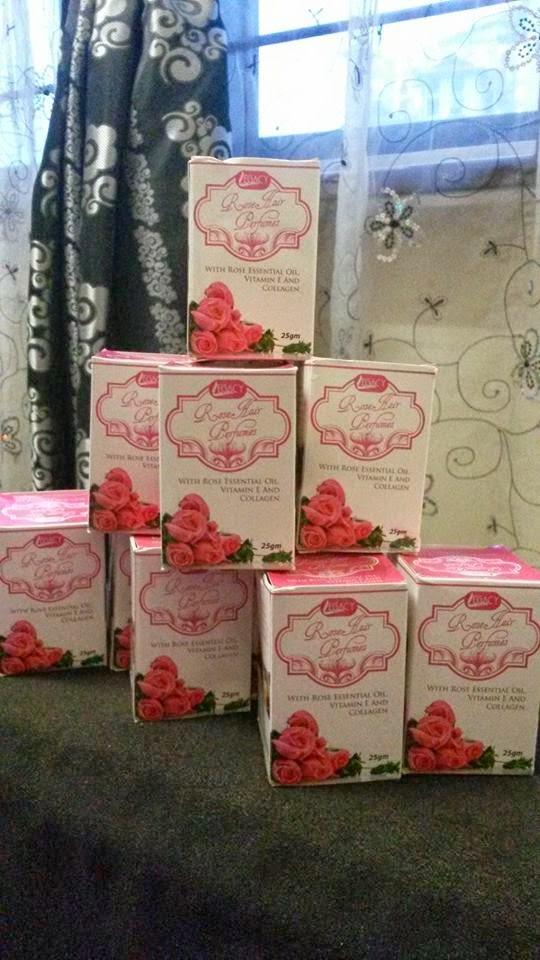 Hair Rose Perfume Murah
