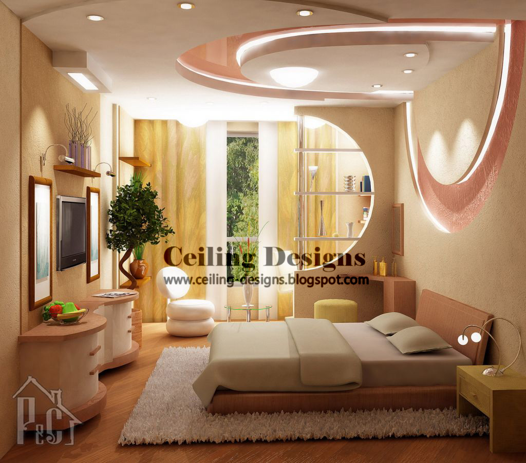200 bedroom ceiling designs for Images decor gypsum