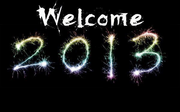 welcome 2013 wallpaper.