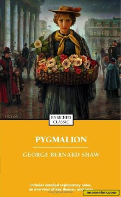 pygmalion book review The title of this play is called pygmalion by george bernard shaw this is a play  about a man who picks a poor person off the street who sells flowers named.