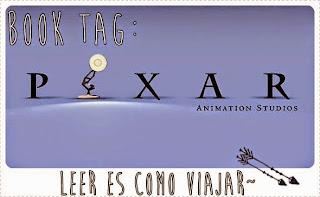 "Booktag #10 ""Disney pixar"""