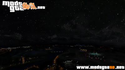 Céu, Nuvens e Noite Realista V3