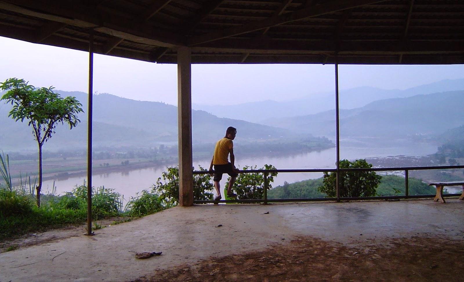 Huay Sai viewpoint near Chiang Khong