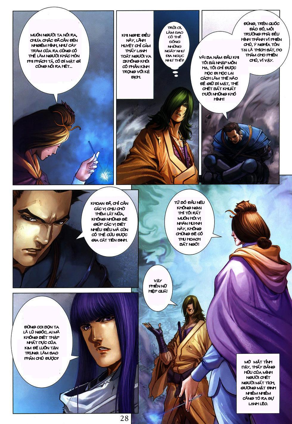 Tứ Đại Danh Bổ chap 222 Trang 25