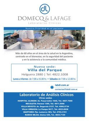 LABORATORIOS CLÍNICOS DOMECQ & LAFAGE