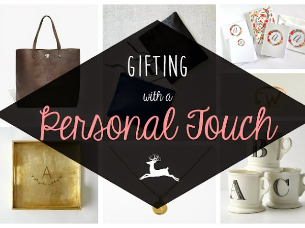 Gifting With A Personal Touch