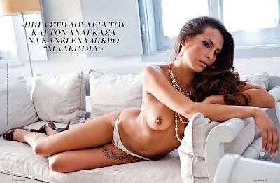 Olia Kova Playboy Greece October 2011