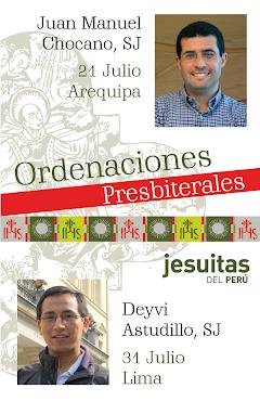Ordenaciones Sacerdotales Jesuitas