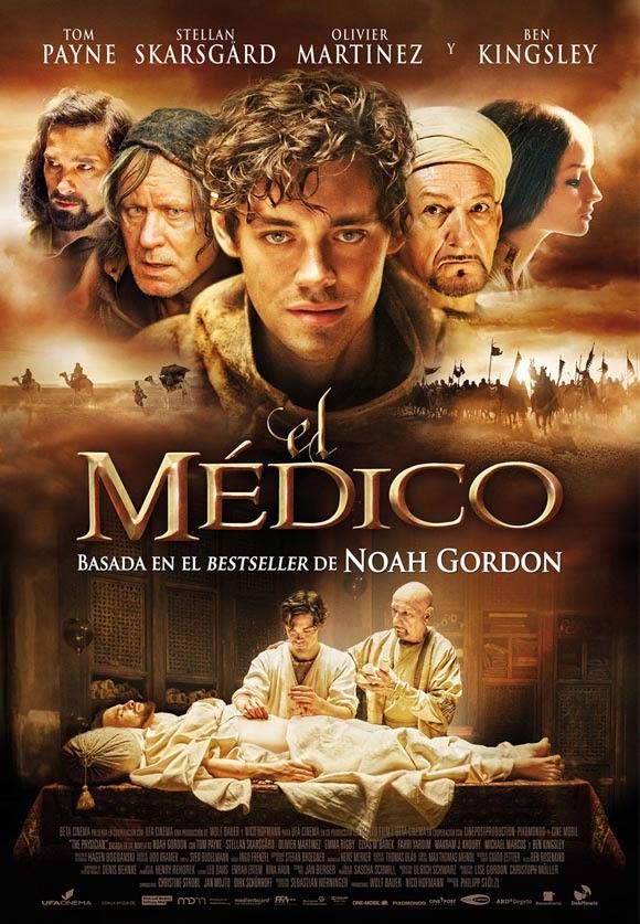 """Poster de """"El Médico"""" adaptación de la obra de Noah Gordon"""