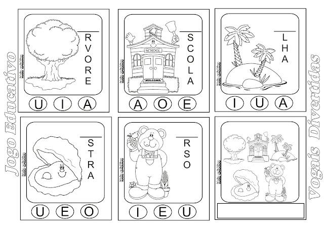 Jogo Educativo Vogais