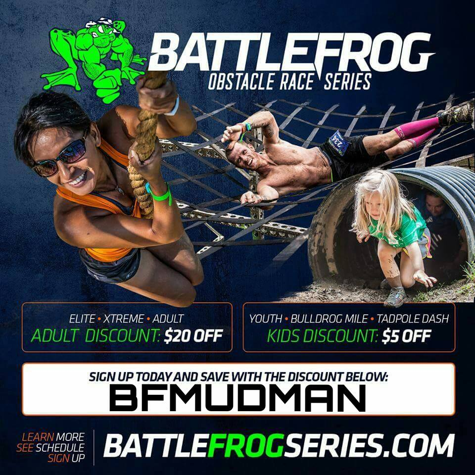 Save on your BattleFrog entry this year