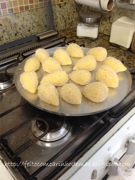 receita de coxinha de aipim mandioca macacheira