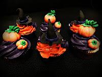 cup cakes de halloween