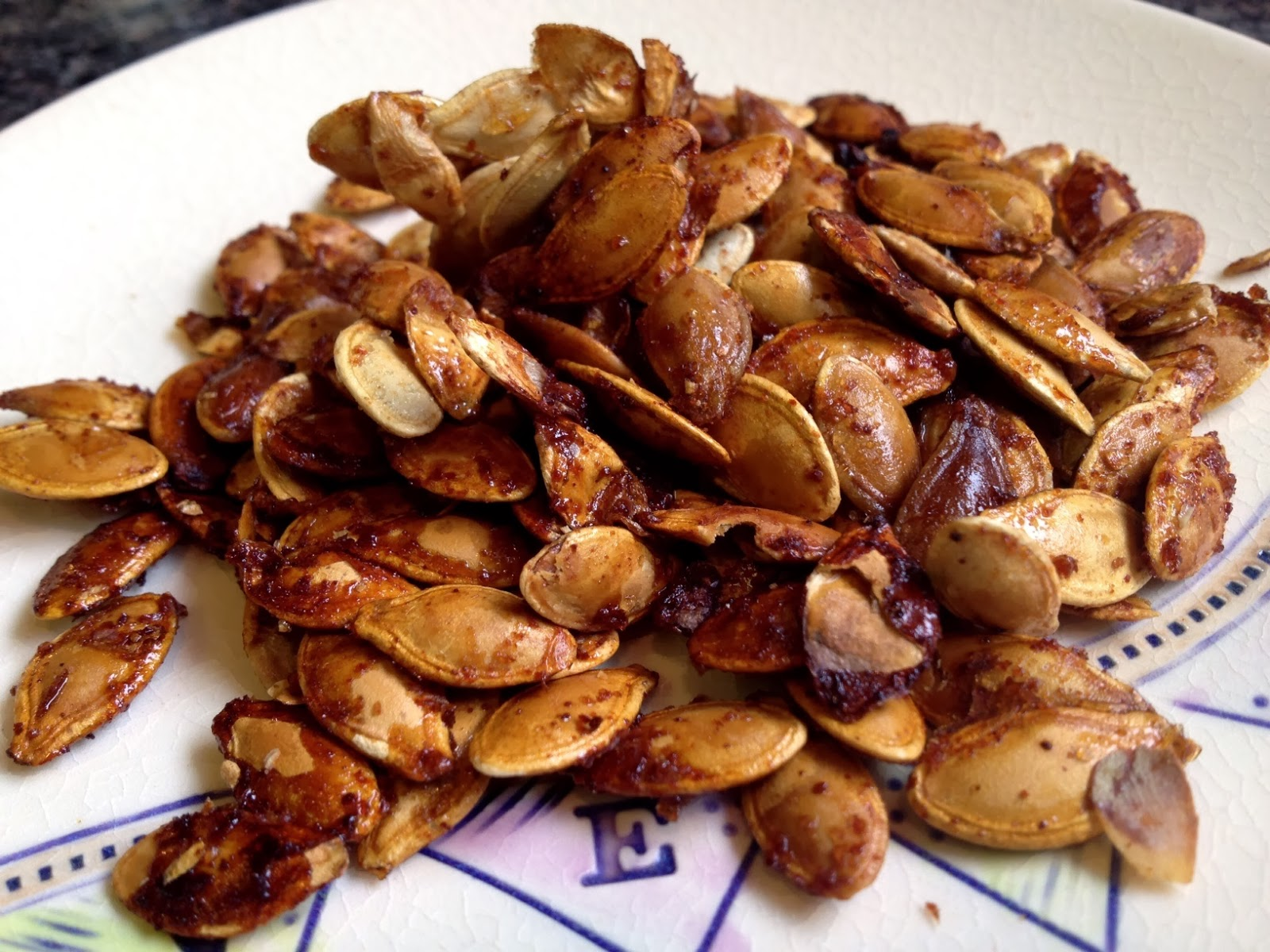Sweet 'n' Spicy Roasted Pumpkin Seeds