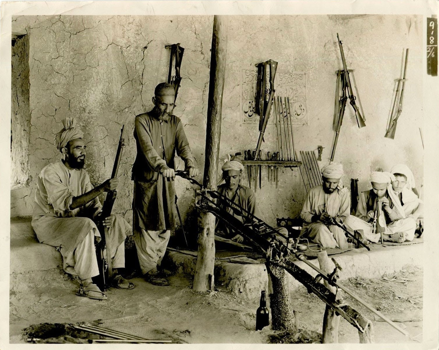 Native Rifle Factory Kohat Pass India 1935