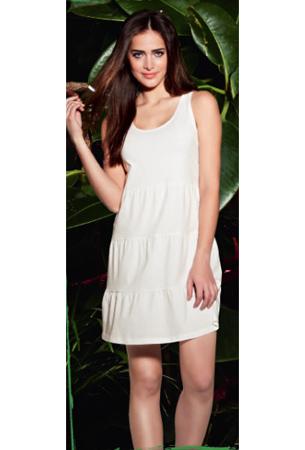 vestido de verano blanco Lidl