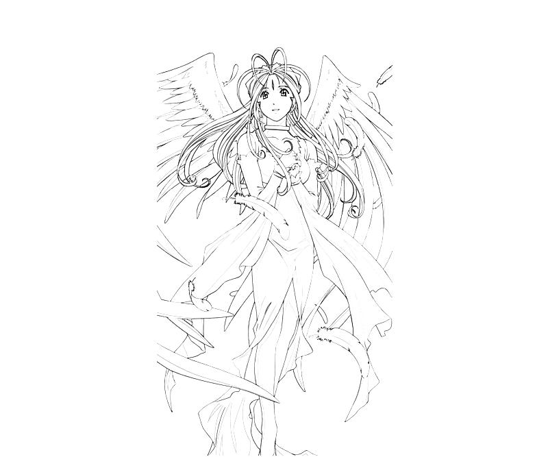 printable-belldandy-wing-coloring-pages