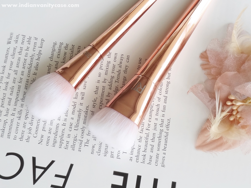 real techniques bold metals contour brush. the handles are heavy - or weighted and diamond-shaped (not rounded) so they don\u0027t roll off when you place them on a flat surface. real techniques bold metals contour brush
