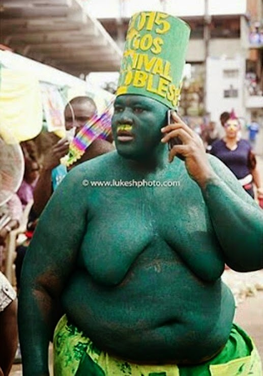 Lagos State Carnival: Photo Of The Day