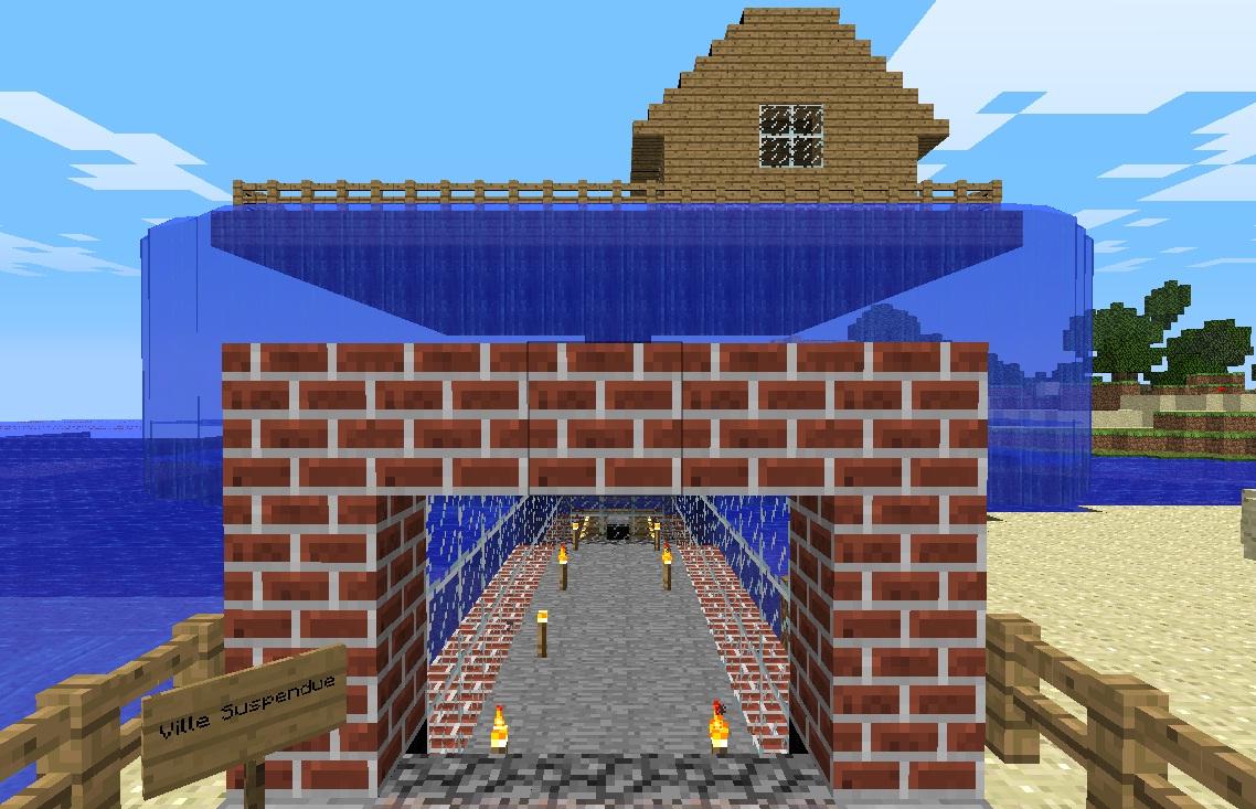 Minecraft Jardin Magnifique Minecraft - Beau Jardin Minecraft - Atic ...