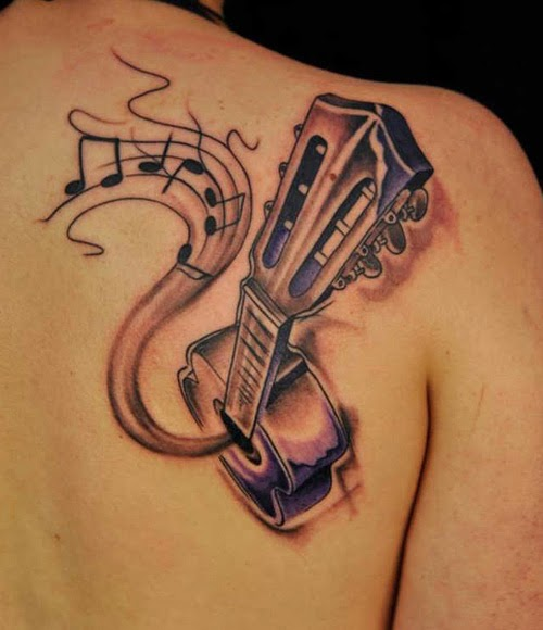 Tattoo Ideas Related To Music: 15 New Music Tattoo Designs With Names And Meanings