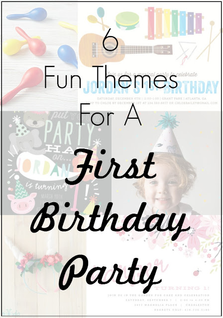 6 fun First Birthday party themes, from party animals to garden fun