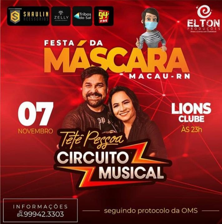 Circuito Musical, dia 11 NOV