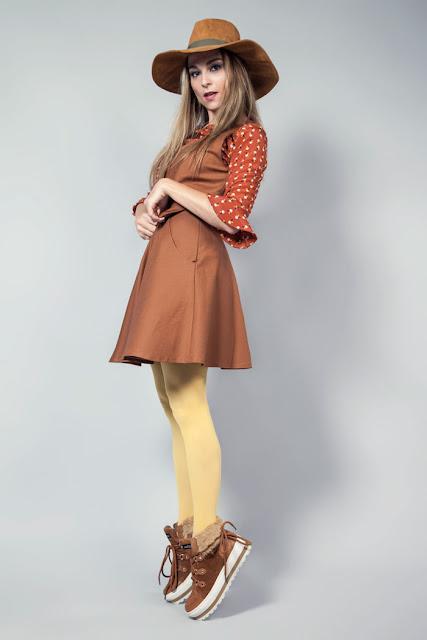 vestido con chaleco