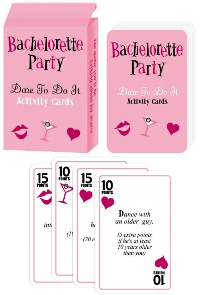 sweet and sour showers bachelorette party games