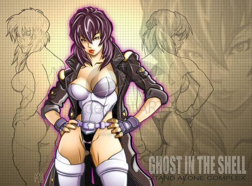 Ghost In The Shell por mikems71