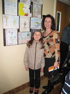 Morris County Youth Art Month 2011 - Emma & Mrs. Scully