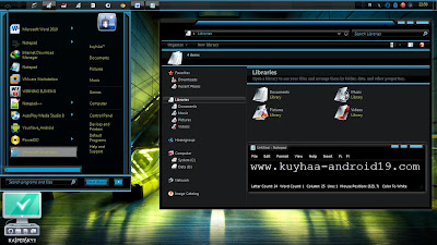 3D STAIRS THEME WINDOWS 7 COOL
