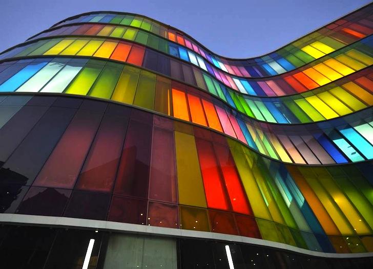 Design educational building - El color en la arquitectura ...