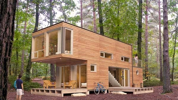 A Shipping Container Costs About $2,000. What These 15 People Did With That Is Beyond Epic - The shapes are basically the same, but wow.