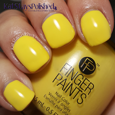 FingerPaints Tie Dye Revolution - Yellow Out Man | Kat Stays Polished