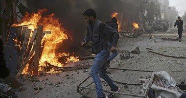 اخر اخبار سوريا اليوم الاثنين 14-12-2015 انباء عن مقتل ما يقرب من 40 سوري في قصف بمنطقة دوما بسوريا