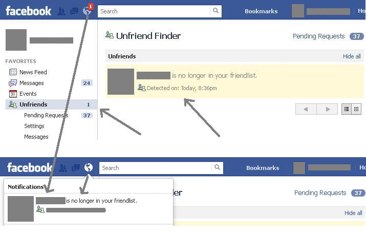 Files which can be opened by Unfriend Finder