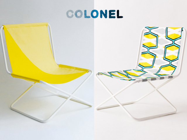 chaise camping colonel